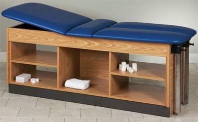 Split Leg Taping Table