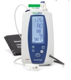 Spot Vital Signs Monitor BP Pulse Temp SPO2