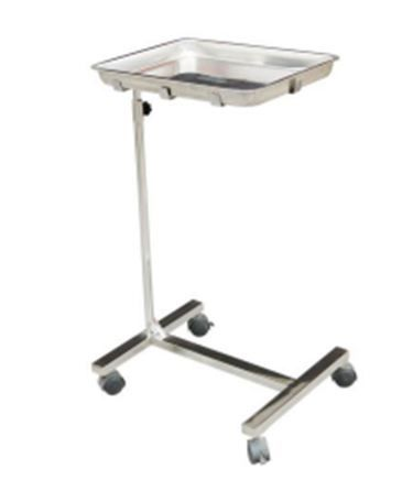 Stainless Mobile Mayo Stand