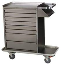 Stainless Steel Cast Cart Standard Package