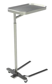 Stainless Steel Mayo Instrument Stand Foot Pedal