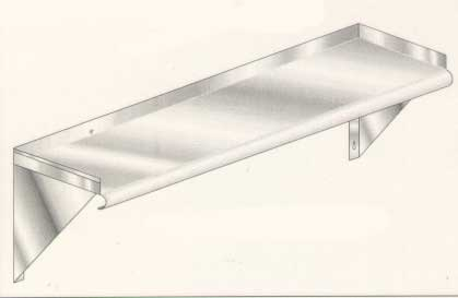 Stainless Steel Wall Shelf