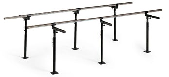 Floor Mounted Bariatric Parallel Bars