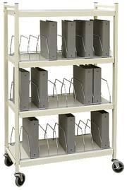 Standard Chart Rack, 30 Binder Capacity