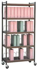 Standard Chart Rack 32 Binder Capacity