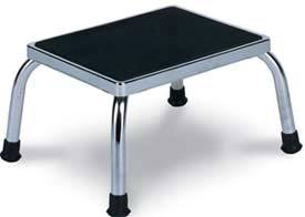 Standard Chrome Steel Foot Stool