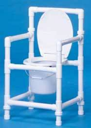 Standard PVC Commode