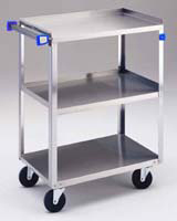 Standard Duty 3 Shelf Utility Cart