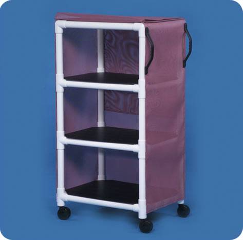 Standard 3 Shelf Line Linen Cart