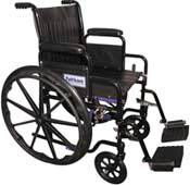 Standard Wheelchair Removable Arms