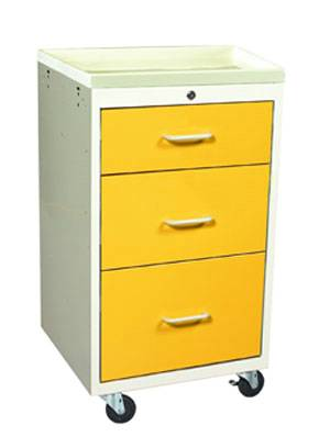 Steel 3 Drawer Mini Isolation Cart