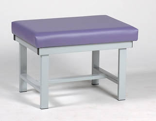 Steel Frame Double Wide Bench