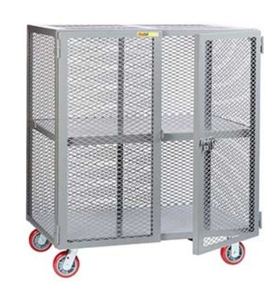 Mobile Steel Mesh Security Cabinet