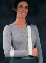Strap Arm Sling with Foam Neck Pad