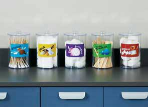 Sundray Jars - Animal Pals - Clear Plastic