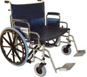 Bariatric Wheelchair Removable Arms
