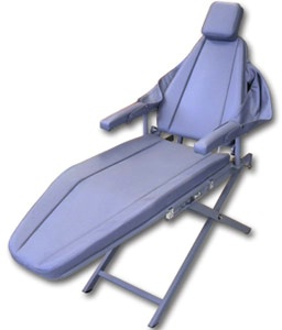 Supreme Aluminum Dental Patient Chair - Scissor Base