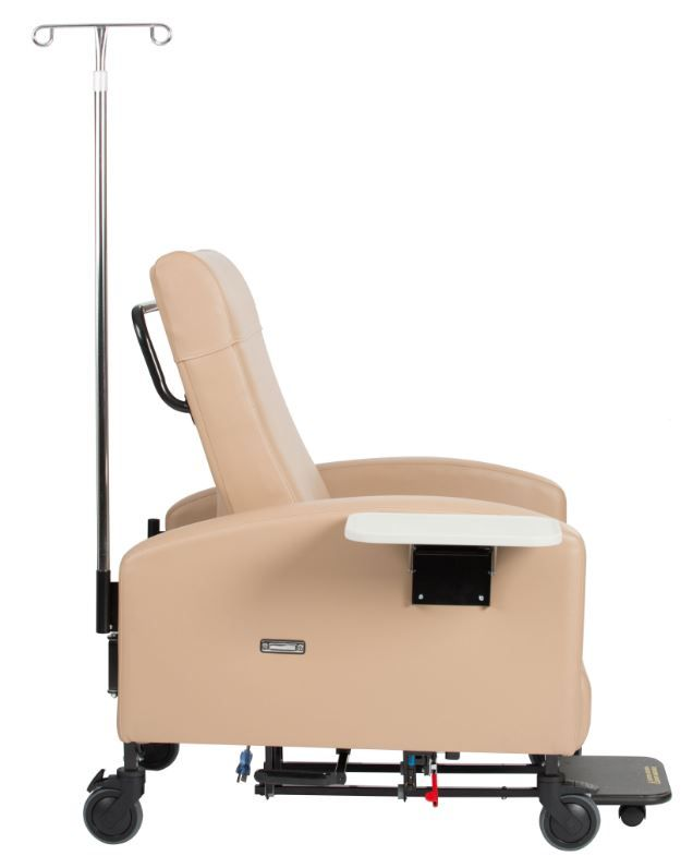 Supreme Patient Care Recliner Swing Arms  Trendelenburg