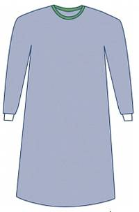 Surgeons Gown Non-Reinforced 50in 127cm