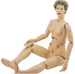 Dual Sex Patient Care Manikin wo Ostomy