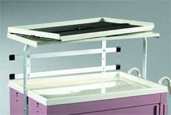 Swiveling Single Shelf Unit