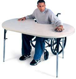 Therapy Table Model Powder Board