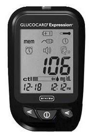 Talking Blood Glucose Meter