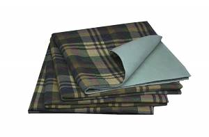 Tartan Plaid Reusable Underpads