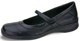 Single Strap Leather Mary Jane Shoes