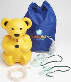 TeddyNeb Pediatric Nebulizer/Compressor