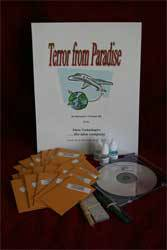 Terror From Paradise - Crime Scene Kit