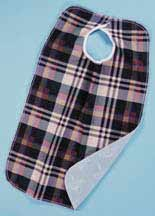 Terrycloth Adult Impervious Bibs/Clothing Protectors