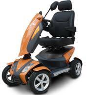 Sunset Orange Scooter