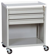 Mini Three Drawer Economy Treatment Cart