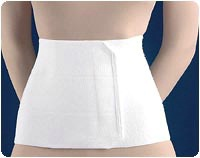 Three-Panel Surgical Abdominal Binder