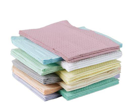 Disposable Premium Polytowels, Green