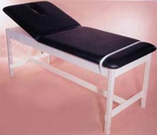 Tilt Back Treatment Table w/ Wooden Frame
