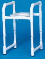 PVC Construction Toilet Safety Frame