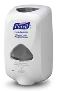 Touch-Free Purell Hand Sanitizer Dispenser