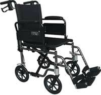 Travel-Lite Wheelchair w/ Swingback Arms