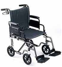 Travel Lite Transport Chair with Elevating Legrests