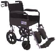 Travel-Lite Wheelchair w/ Fixed Arms