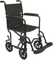 Travel Lite Wheelchair w/ Fixed Arms