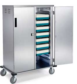 Tray Delivery Cart Holds 10 Trays