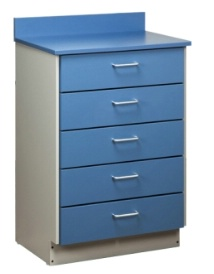 Treatment Cabinet with 5 Drawers