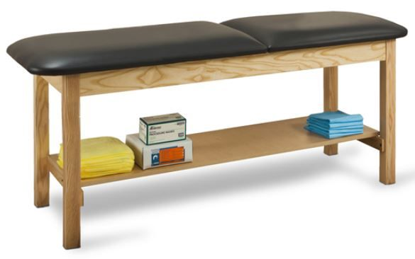 Treatment Table w/ Shelf 27in W