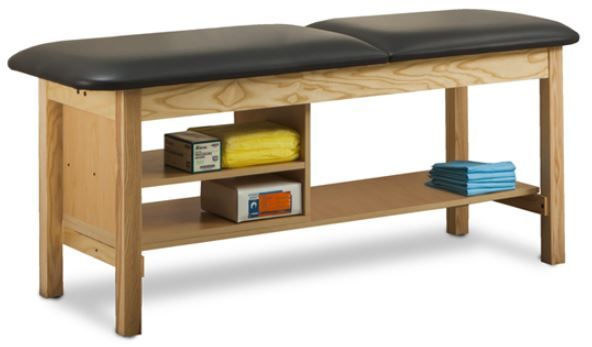 Treatment Table w/ Shelving 24in W