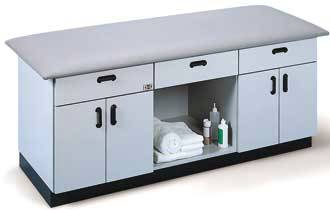 Treatment Table Storage
