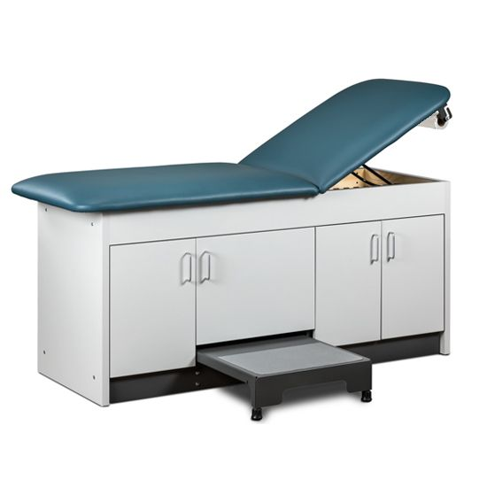 Treatment Table Storage Built In Step up Stool 30in