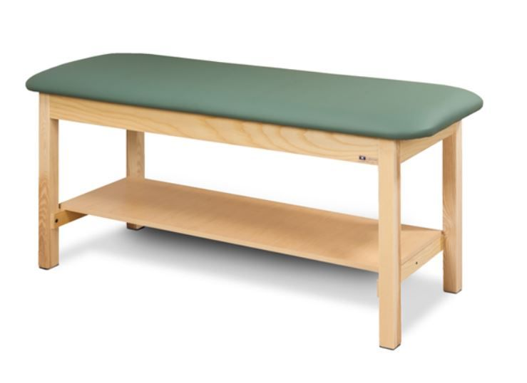 Flat Top Classic SeriesTreatment Table with Full Shelf